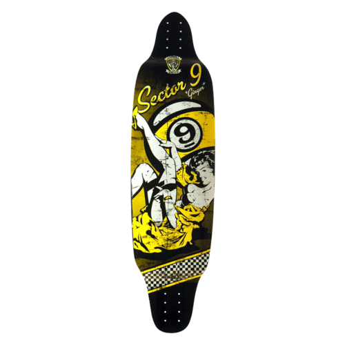 Sector 9 Downhill Division Ginger Longboard Skateboard Custom Complete