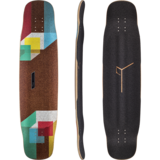 Loaded Tesseract Longboard Skateboard Deck w/ Grip