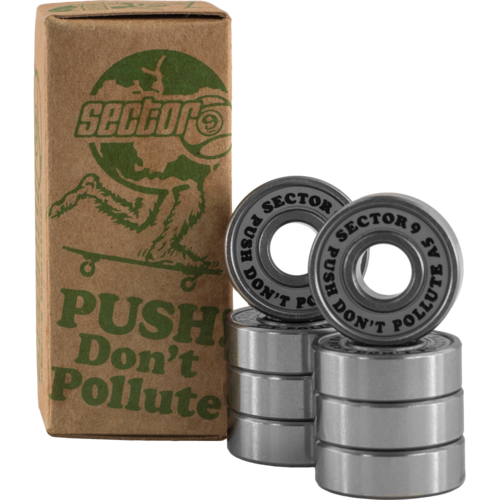 Sector 9 Push Don't Pollute Bearings