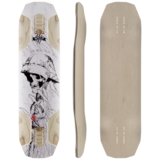 Original Baffle 37 Longboard Skateboard Deck with Grip