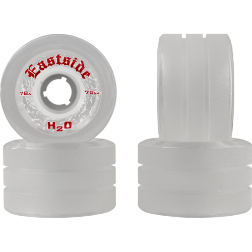 70mm Eastside H2O Rain Longboard Wheels