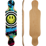 Jet Doppler TM Longboard Skateboard Deck w/ Grip