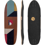 Loaded Truncated Tesseract Longboard Skateboard Deck w/ Grip