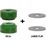 RipTide WFB Chubby Longboard Skateboard Bushings Pack with Washers