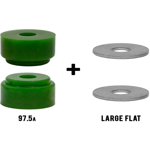 RipTide APS Chubby Longboard Skateboard Bushings Pack with Washers