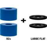 RAD Barrel Longboard Skateboard Bushings Pack with Washers