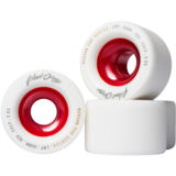 60mm Blood Orange Liam Morgan Pro Series Longboard Skateboard Wheels
