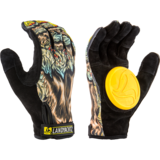 Landyachtz Werewolf Freeride Slide Gloves + Palm Pucks