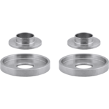 Array Machined Barrel Cupped & Cone Sleeved Washer Combo Pack - Four Pack