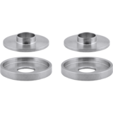 Array Machined Barrel Cupped & Barrel Sleeved Washer Combo Pack - Four Pack