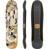 Loaded Overland Longboard Skateboard Deck w/ Grip