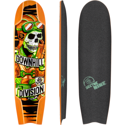 Sector 9 Downhill Division Bomber 37 Longboard Skateboard Custom Complete