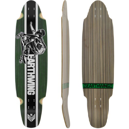 Earthwing Carbon SuperGlider Longboard Skateboard Custom Complete