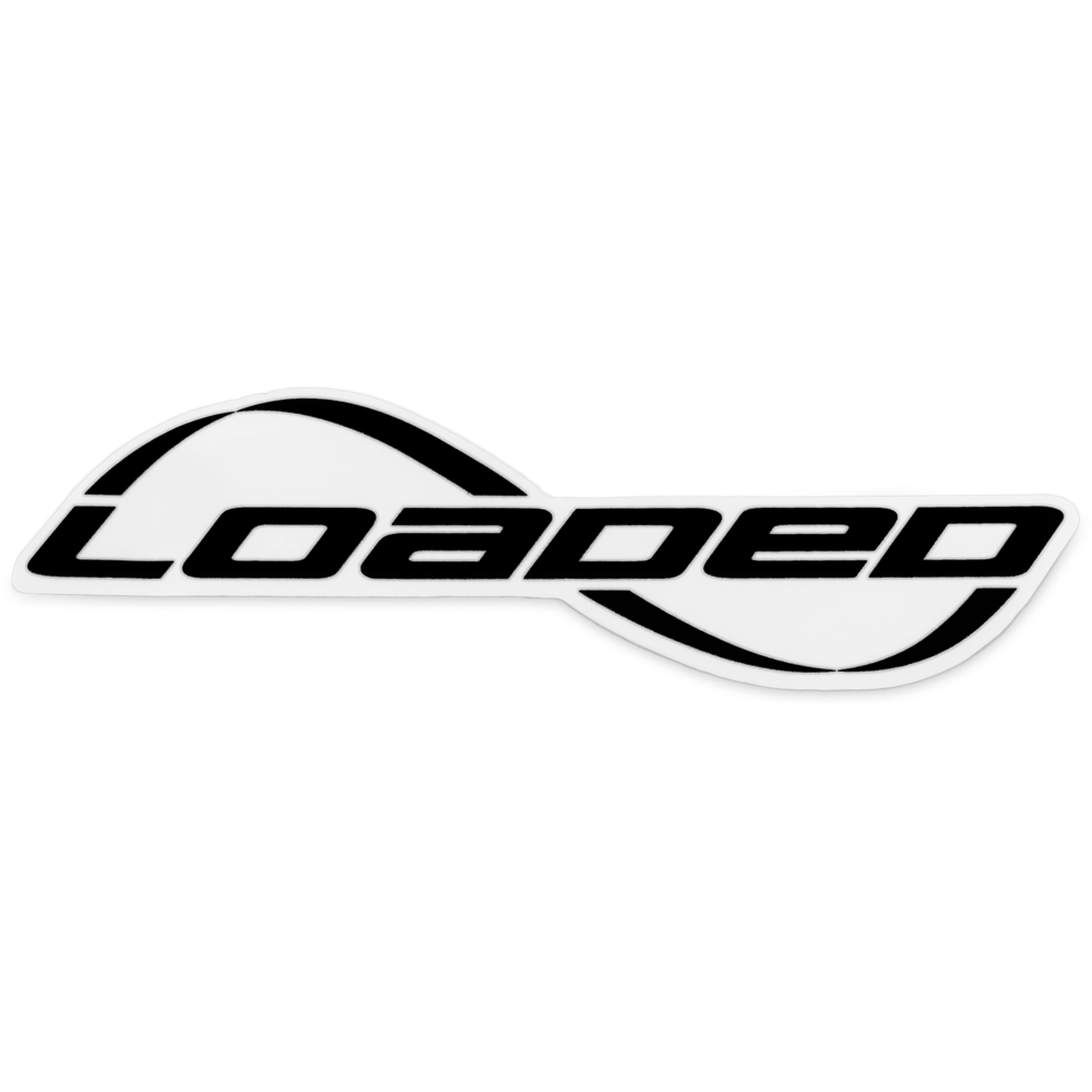 Car sticker design png - Loaded Longboards Logo Sticker