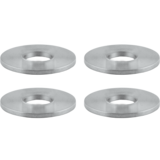 Array Machined Flat Washers Combo Pack - Four Pack