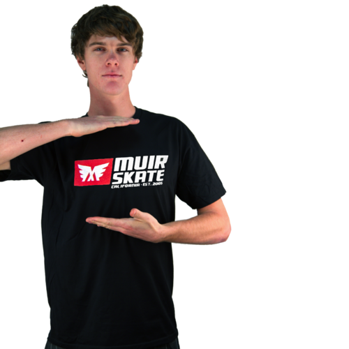 MuirSkate Moving Billboard T-Shirt