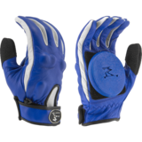 Timeship Racing Ragdoll Blue Slide Gloves + Palm Pucks