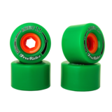 72mm ABEC 11 Centerset Classic Freerides Longboard Wheels
