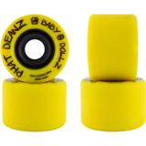 65mm Phat DeanZ Baby DollZ Longboard Skateboard Wheels