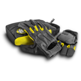 Sector 9 Downhill Division THUNDER Slide Gloves + Palm Pucks and Travel Bag