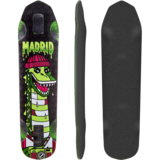 Madrid 2015 Nessie Longboard Skateboard Deck w/ Grip