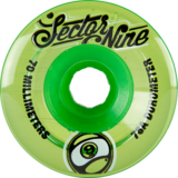 70mm Sector 9 Top Shelf Nineballs Longboard Skateboard Wheels