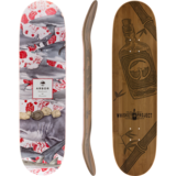 Arbor 2015 Whiskey 8.5 Skateboard Deck w/ Grip