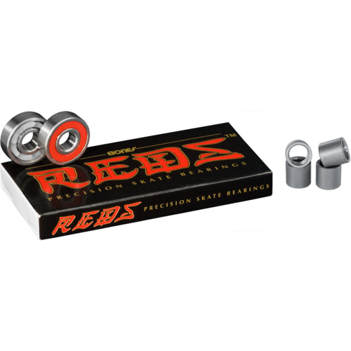 Bones Reds + Spacers = Protect Your Bearings