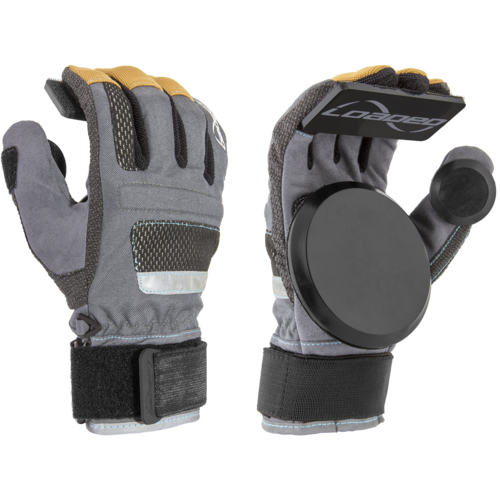 Loaded Freeride V7 Slide Gloves + Pucks