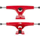 "180mm Atlas ""Ultralight"" Red Longboard Skateboard Truck"