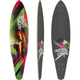 Sector 9 Revolver (LIGHT SCRATCH ON NOSE)Longboard Skateboard Deck w/ Grip