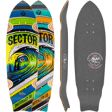 Sector 9 Wavepark Mini Longboard Deck w/ Grip