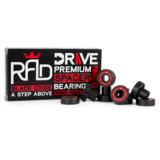 "RAD Drive ""Full Spacer"" Built-In longboard Skateboard Bearings"