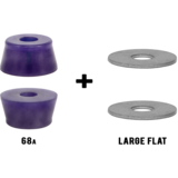 RipTide WFB Fat Cone + Washers Longboard Skateboard Bushings Pack