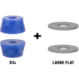 RipTide WFB Fat Cone Longboard Skateboard Bushings Pack with Washers