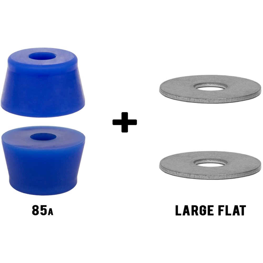 Riptide APS **TALL FAT CONE** Longboard Skateboard Bushings Pack ...