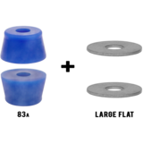 Riptide WFB **TALL FAT CONE** Longboard Skateboard Bushings Pack with Washers
