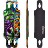 Sector 9 Dropper Longboard Skateboard Deck w/ Grip