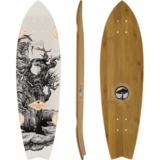 Arbor Sizzler - Bamboo Collection - Longboard Skateboard Custom Complete