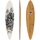 Arbor Fish - Bamboo Collection - Longboard Skateboard Custom Complete