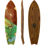 Arbor Sizzler - Groundswell Series - Longboard Skateboard Custom Complete