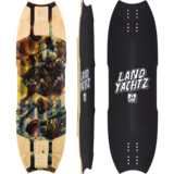 Landyachtz Wolf Shark Mini Longboard Skateboard Deck w/ Grip