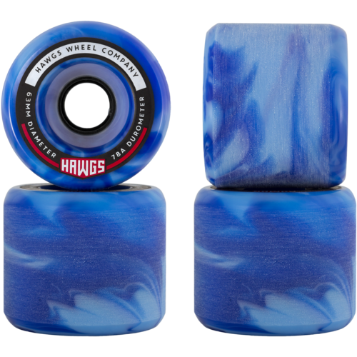 63mm Fatty Hawgs Longboard Skateboard Wheels