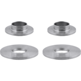 Array Machined Cone Sleeved Washers & Machined Flat Washers Combo Pack - Four Pack