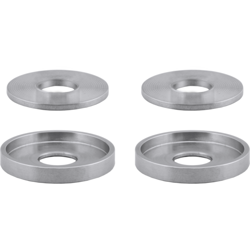 Array Machined Machined Flat Washers & Machined Cupped Washers Combo Pack - Four Pack