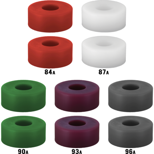 RipTide KranK Short Street Barrel Longboard Skateboard Bushings Pack