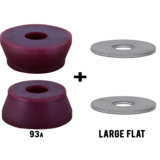 RipTide KranK Street Fat Cone + Washers Longboard Skateboard Bushings Pack
