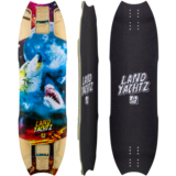 Landyachtz 2016 Wolf Shark Re-Issue Longboard Skateboard Custom Complete