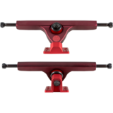 184mm Caliber 2 Two-Tone Red Downhill Longboard Truck