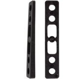 Khiro 2° Angled Wedge Rail Risers